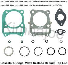 Piston Ring Set 66.97mm For 2000 Suzuki LT-F250 QuadRunner ATV