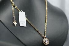 GUESS Kette UBN21534 Gold Herz Halskette Damenschmuck Modeschmuck Halsschmuck