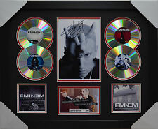EMINEM  MEMORABILIA 4CD FRAMED SIGNED LIMITED EDITION