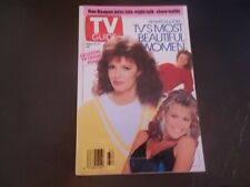 TV's Most Beautiful Women - TV Guide Magazine 1991