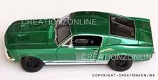1967 FORD MUSTANG GTA  FASTBACK GREEN MAISTO 1:18 SPECIAL EDITION MODEL CAR