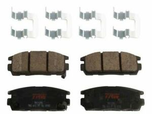 Rear TRW Premium Ceramic Brake Pad Set fits GMC Terrain 2010-2017 12GGHC