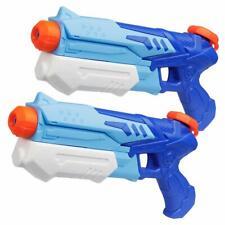 D-FantiX Water Guns 2 Pack, Super Water Blaster Soaker Squirt Guns High Capacity