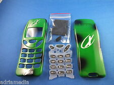 Front Back Cover Tastaturmatte Nokia 3210 Gehäuse Handyschale Neu Housing Grün