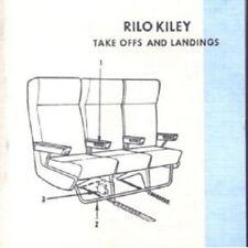 RILO KILEY-TAKE OFFS AND LANDINGS CD ROCK 15 TRACKS NEW+