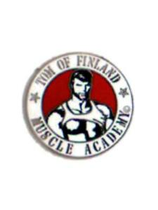 Pin Tom of Finland Muscle Academy Pride Gay-Pride