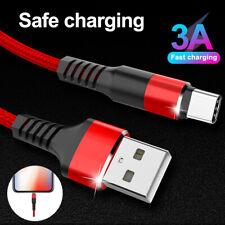 Para Samsung Galaxy S10 S9 Plus Tipo C USB cargador rápido de sincronización de C-Cable de carga