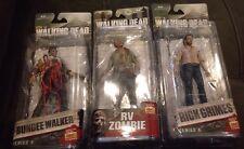 McFarlane Toys AMC Walking Dead RV Zombie, Rick Grimes, Bungee Walker Series 5/6