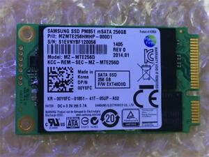 Samsung PM851 mSATA 128GB 256GB 512GB 1TB SSD  MZ-MTE1280 MZ-MTE256D MZ-MTE512D
