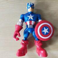 "CAPTAIN AMERICA Marvel Super Hero Adventures 5"" Figure hasbro 2012"