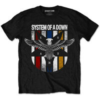 SYSTEM OF A DOWN Eagle Colours T-shirt (S to XXL) NEW OFFICIAL Serj Tankian