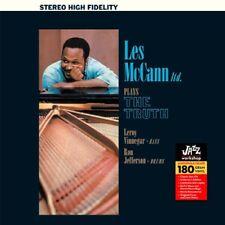 Les McCann - Plays the Truth / Jazz Workshop 180 Vinyl - New & Sealed LP