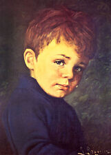 Alfie Crying Boy A1+ by G Bragolin Tretchikoff Era High Quality Canvas Print