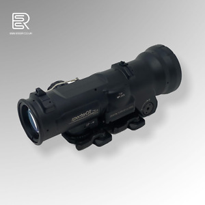 ELCAN SpectorDR 1.5X/6X Scope Red Dot Illuminated Sight - Metal Airsoft Black
