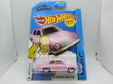 The Simpsons Family Car Hot Wheels City 1:64 Scale Diecast *UNOPENED*