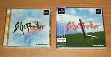 Saga Frontier 1,2 Playstation 1 Games Complete Fun PS1 Japan Import Games
