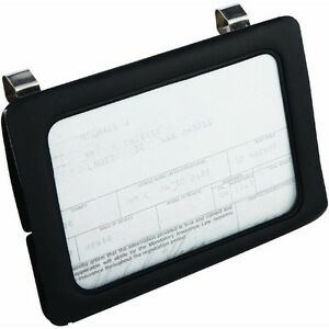 Car Pickup Truck Sun Visor Clip On Certificate Insurance Card Holder 43331