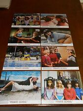 PRIVATE SCHOOL (1983) PHOEBE CATES ORIGINAL COLOR STILL SET OF 8 DIFF