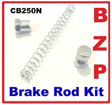 Honda CB250N - BZP Brake barrel / Spring / Nut Kit