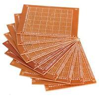 10PC 5x7cm DIY Breadboard Universal Printed Circuit Panel Board Prototype PCB UP