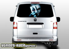 VW Volkswagen Transporter T5 tailgate wrap 109 printed sticker graphics vinyl
