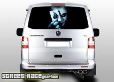 VW Volkswagen Transporter T5 Portón Trasero Envoltura de Vinilo Pegatina de gráficos de 109 Impreso