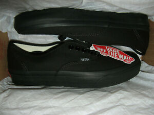 Vans Authentic Womens Skate Skateboard Sneakers Shoes Canvas All Black