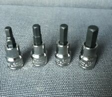"""Blue Point by snap on NEW 3/8"""" dr HEX Allen Socket set 6mm 7mm 8mm & 10mm NEW"""