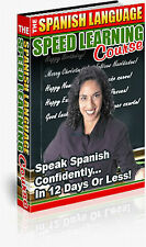 Spanish Language Speed Learning Course - Learn to Speak Spanish in 12 Days on CD