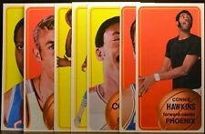 7 Topps 1970-71 EX to NM CONNIE HAWKINS SMITH COLLINS WALT HAZZARD FRED CARTER