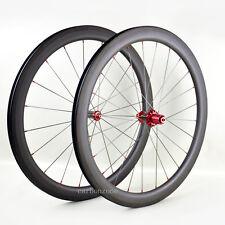 Straight-Pull 40mm Carbon Clincher Wheel Set Powerway R36 Pillar 700C Road Bikes