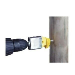 Adaptor Of Drill For Placement Insulators Insprovet