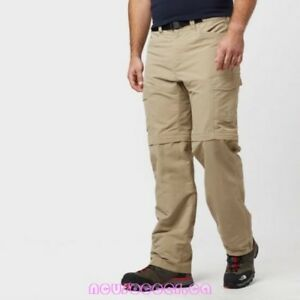 The north face paramount peak ll convertible pant XL LONG 40/42 Dune beige BNWT