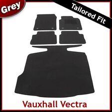 VAUXHALL VECTRA C 2002-2008 Tailored Carpet Car and Boot Mats GREY