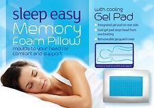 Gel memory foam cuscino di raffreddamento Morbido Comodo & Di Supporto