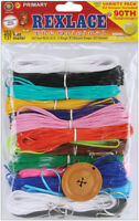 Pepperell RX-153 Rexlace Plastic Lacing Cord, 450-Feet, Primary