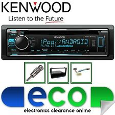 HONDA Civic EP4 KENWOOD CD MP3 USB Multi Colore DISPLAY NERO KIT STEREO AUTO