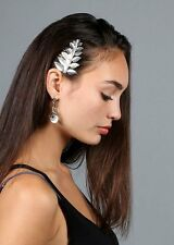 2 Piece Metallic Leaf Hair Comb Fashion Barrette Comb Hair Jewelry