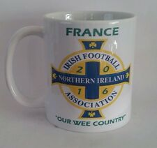 Free gift box. Northern Ireland/ France 2016 mug  football Ulster euros.