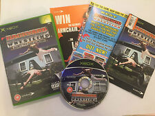ORIGINAL PAL XBOX GAME BACKYARD WRESTLING DONT TRY THIS AT HOME COMPLETE