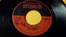 """Basil Daley - Hold Me Baby /Reggae 45"""" on Studio One UK Orig,"""