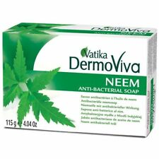 2 x Dabur Vatika DermoViva Neem Soap (naturally anti-bacterial Soap) 115g