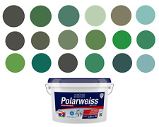 Wandfarbe, Deckenfarbe, Innenfarbe 'Grüntöne' - RAL 6000-6038