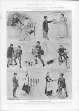 1903 antica stampa-INDUSTRIA SISTEMA POSTALE CONTRASSEGNO Borsa Postino (277)