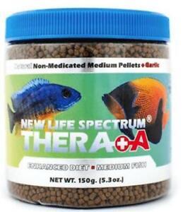 New Life Spectrum Thera+A Medium Pellet Sinking Pellet 150g Natural Fish Food