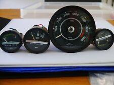 Volvo 1800 E ES meters. Rev counter, water temp, oil temp, oil pressure