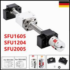 SFU1605/1204/2005 Kugelumlaufspinde +BK/BF12/10/15 +Kupplung + Muttergehäuse CNC