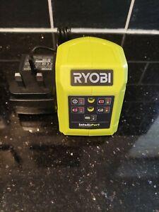 Genuine Ryobi One+ 18v Drill Jigsaw Tool Battery Charger RC18115 IntelliPort