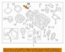 NISSAN OEM 05-18 Frontier 4.0L-V6 Evaporator Heater-Front Cover 27122EA000
