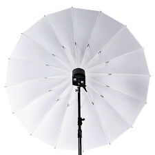"Studio 75"" / 180cm Large Soft White Translucent Umbrella for Flash Light Strobe"